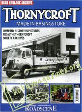Road Haulage Archive Issue 4 - Thornycroft