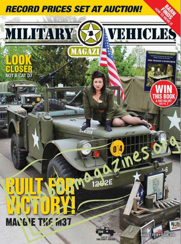 Military Vehicles Magazine August 2019 187 Hobby Magazines