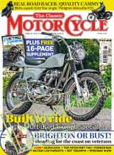 The Classic MotorCycle - June 2019
