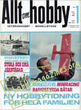 Allt om Hobby Issue 1 September/October 1966