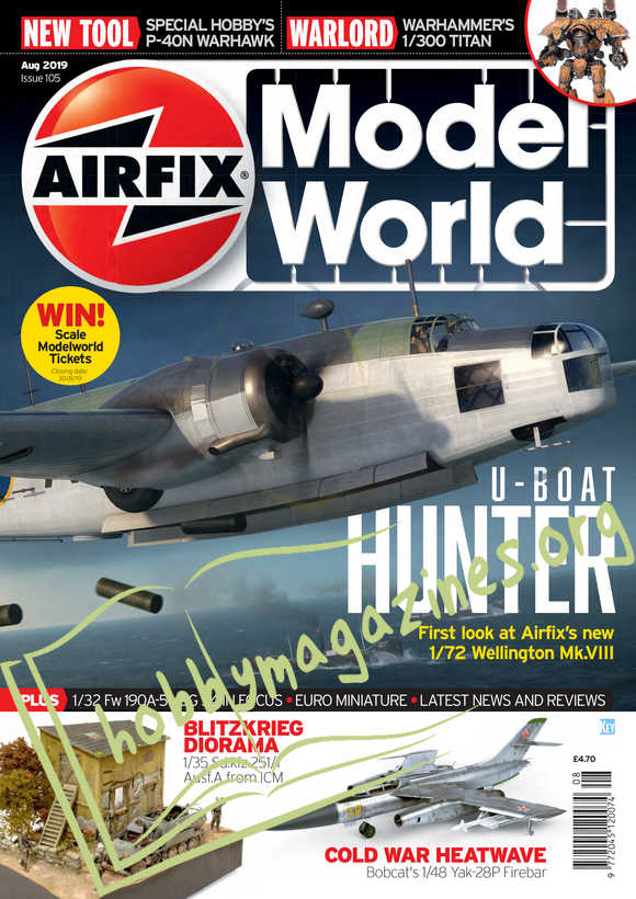 Airfix Model World Issue 105 - August 2019