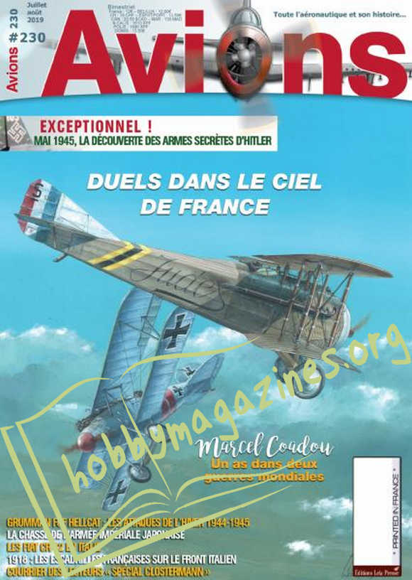 Avions - Juillet/Août 2019