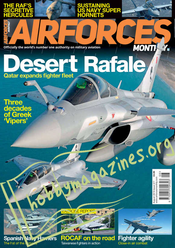 Air Forces Monthly - August 2019