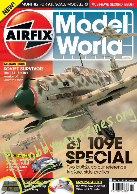 Airfix Model World 002 - January 2011