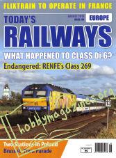 Today's Railways Europe - August 2019