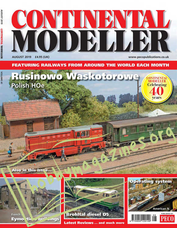 Continental Modeller  - August 2019