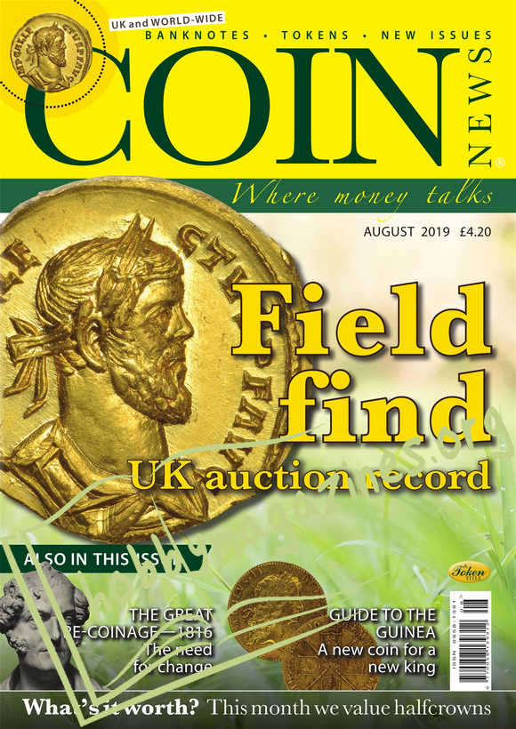 Coin News - August 2019