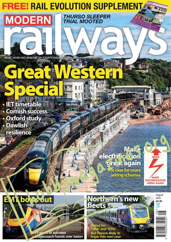 Modern Railways - August 2019