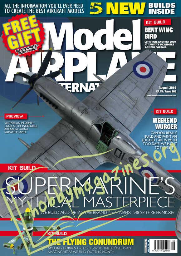 Model Airplane International 169 - August 2019