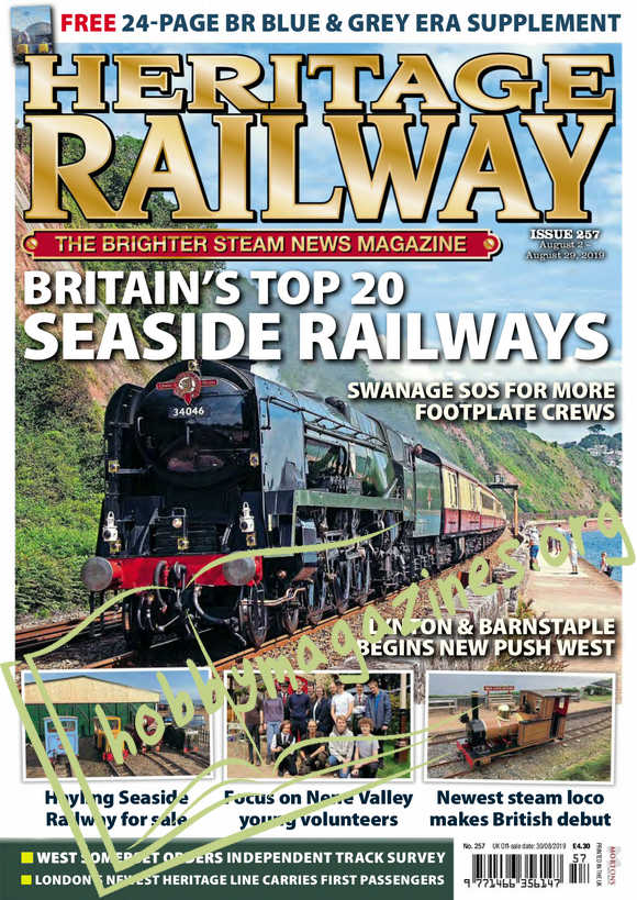 Heritage Railway 257 - 2 August 2019