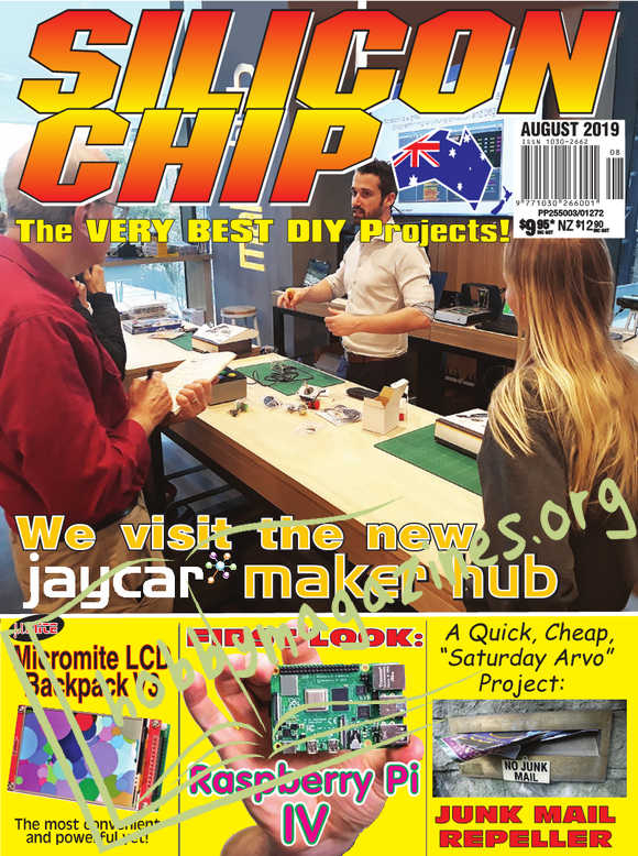 Silicon Chip - August 2019