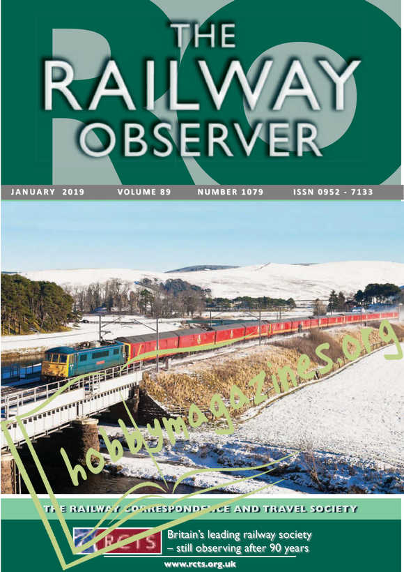 The Railway Observer - January 2019