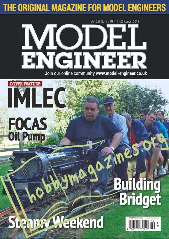 Model  Engineer 4619 - 16 August 2019