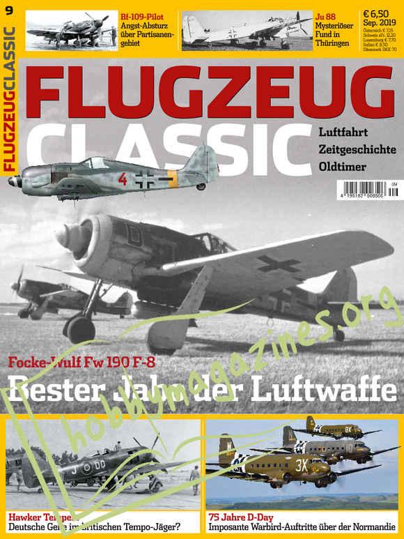 Flugzeug Classic 2019-09