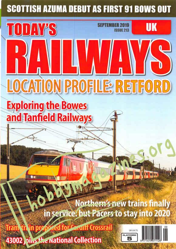 Today's Railways UK - September 2019