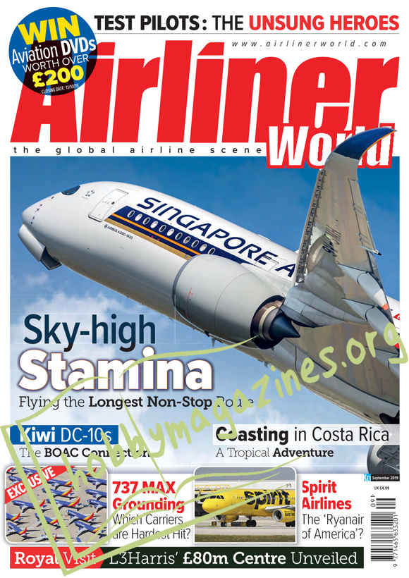 Airliner World - September 2019