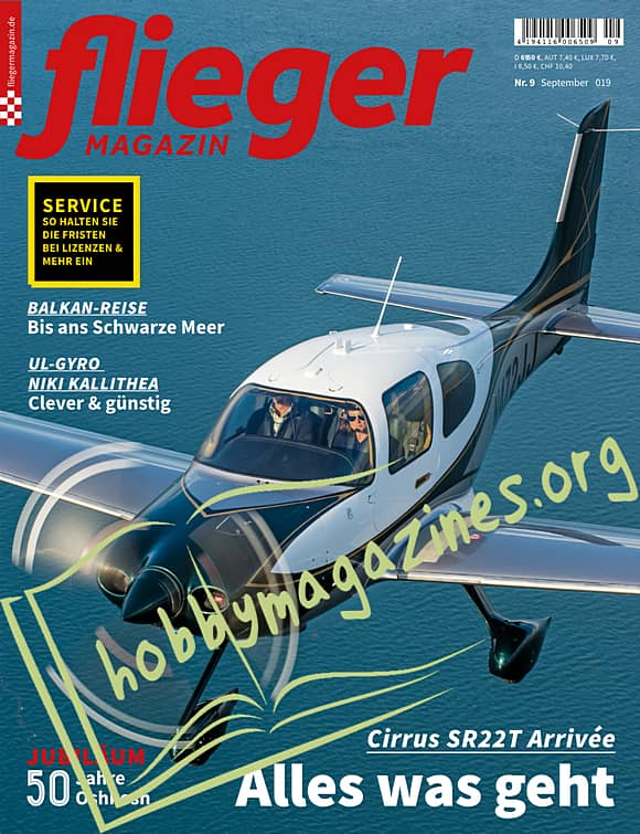 Fliegermagazin 2019-09