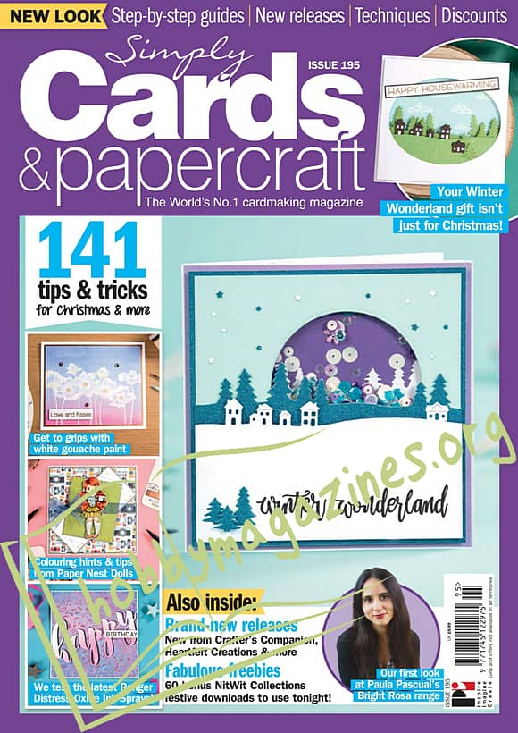 Simply Cards & Papercraft Issue 195