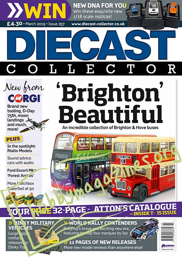 Diecast Collector March 2019