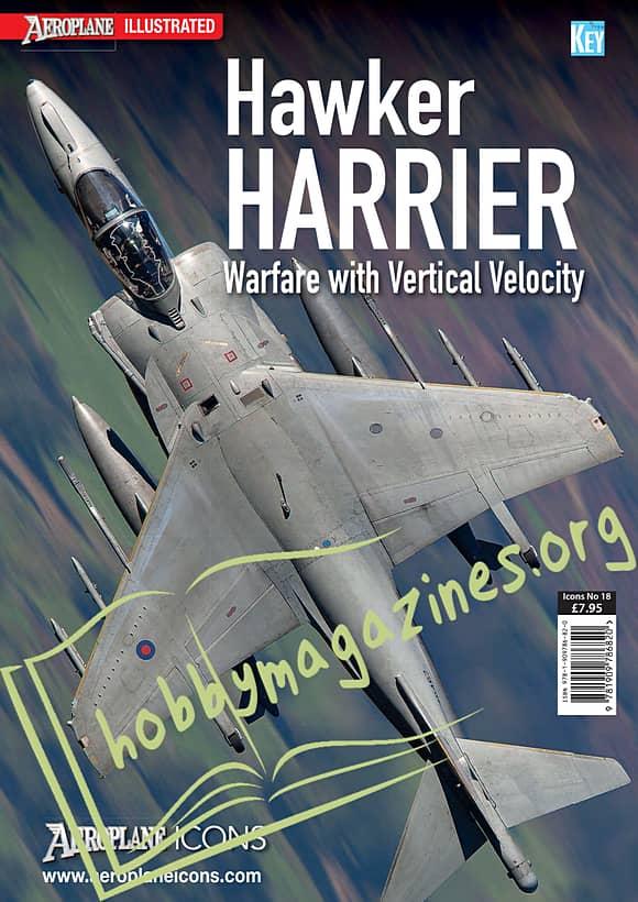 Aeroplane Icons - Hawker Harrier