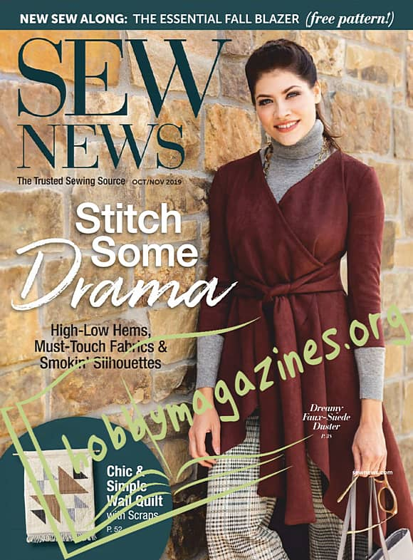 Sew News - October/November 2019