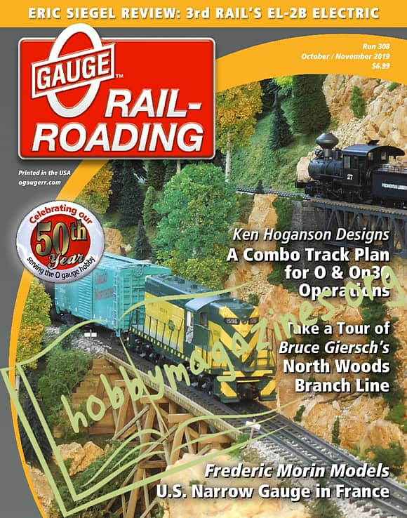0 Gauge Railroading - October/November 2019