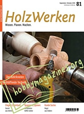 HolzWerken - September-Oktober 2019