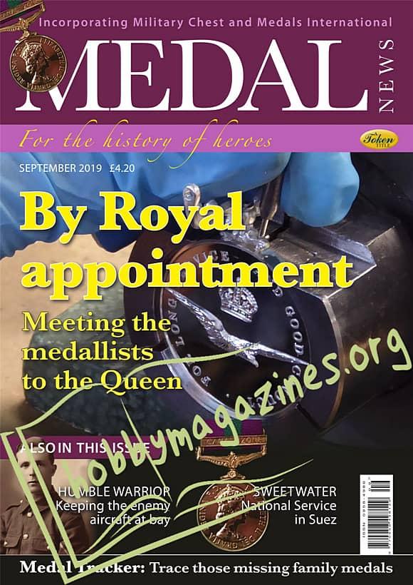 Medal News - September 2019