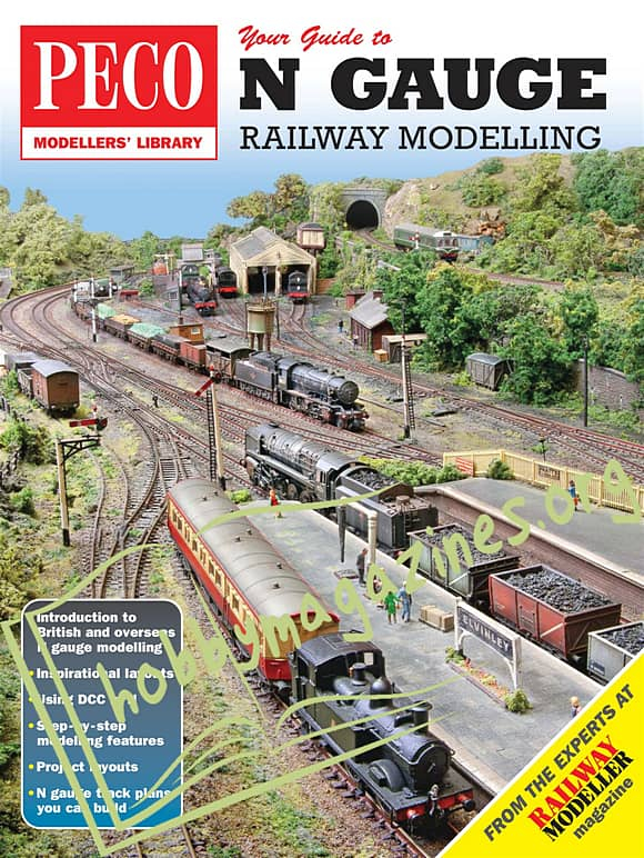 Peco Modellers' Library  Your Guide to N Gauge Railway Modelling