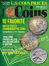 Coins – November 2019