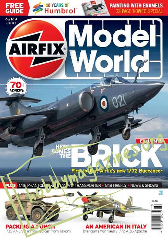 Airfix Model World 107 - October 2019