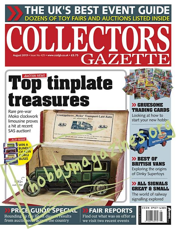 Collectors Gazette August 2019