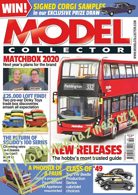 Model Collector October 2019