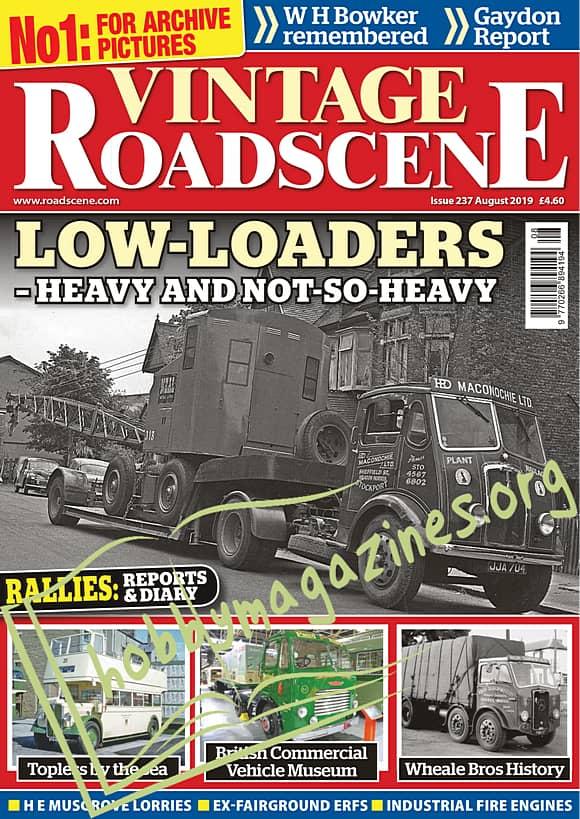 Vintage Roadscene August 2019