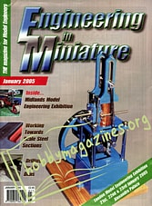 Engineering In Miniature - January 2005