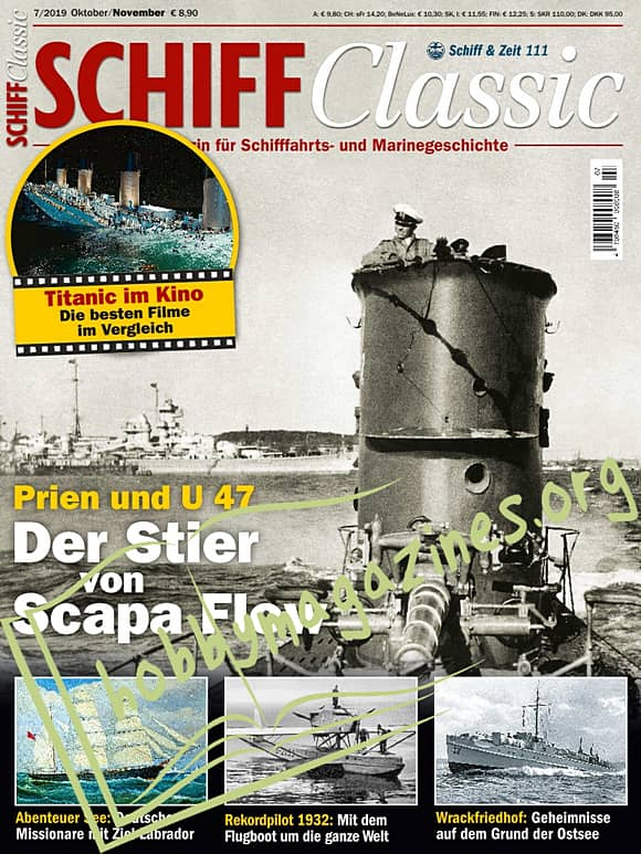 Schiff Classic – Oktober/November 2019