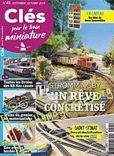 Cles Pour Le Train Miniature 45 - Septembre/Octobre 2019