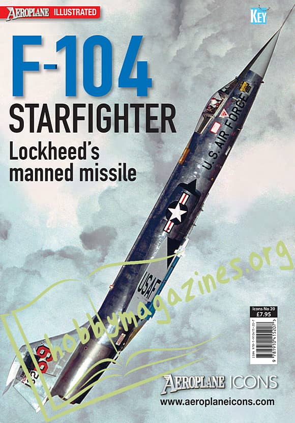 Aeroplane Icons : F-104 Starfighter