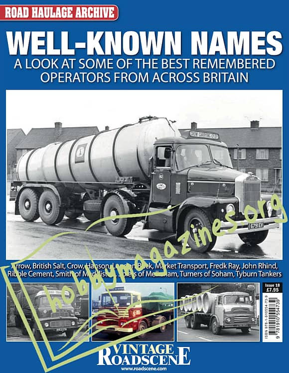 Road Haulage Archive Issue 18 - Well-Known Names