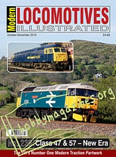Modern Locomotives Illustrated - October-November 2019