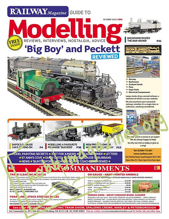 The Railway Magazine Guide to Modelling – October 2019