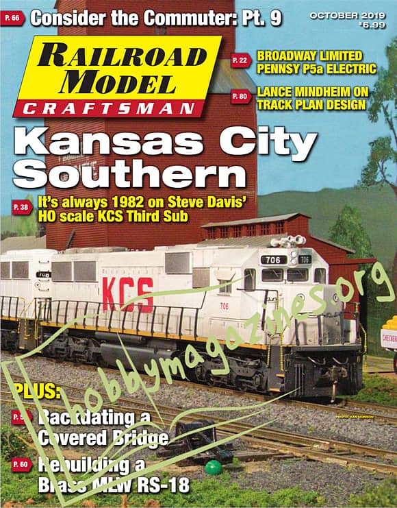 Railroad Model Craftsman - October 2019