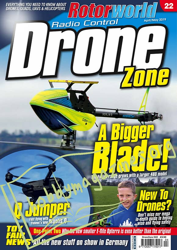 Radio Control DroneZone 022 - April/May 2019
