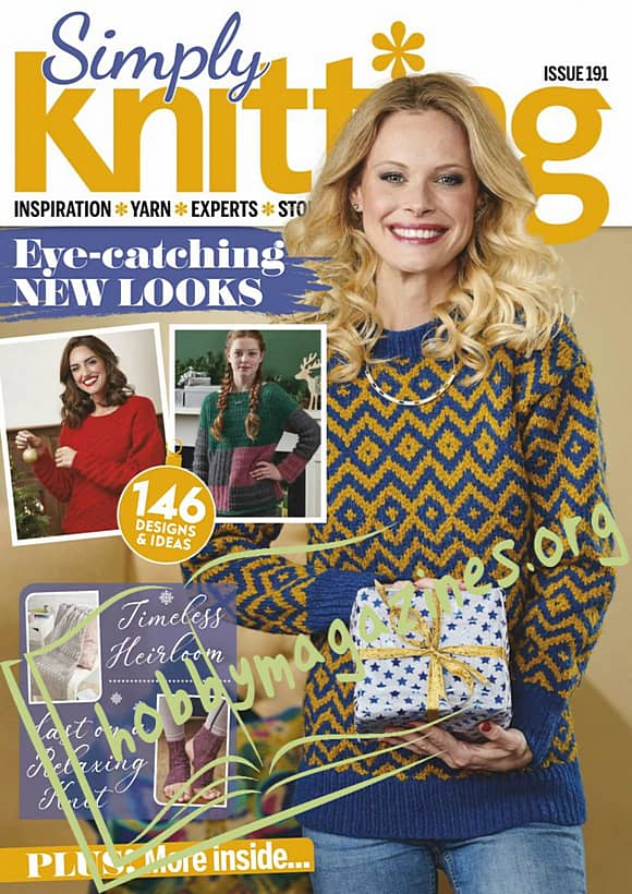 Simply Knitting Issue 191