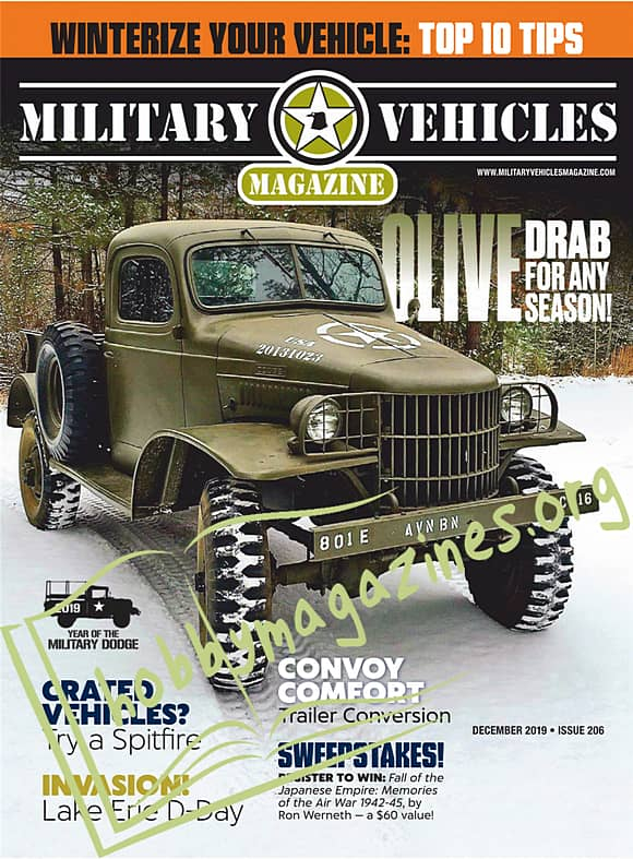 Military Vehicles Magazine - December 2019