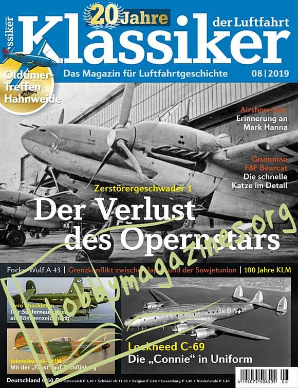 Klassiker der Luftfahrt 2019-08