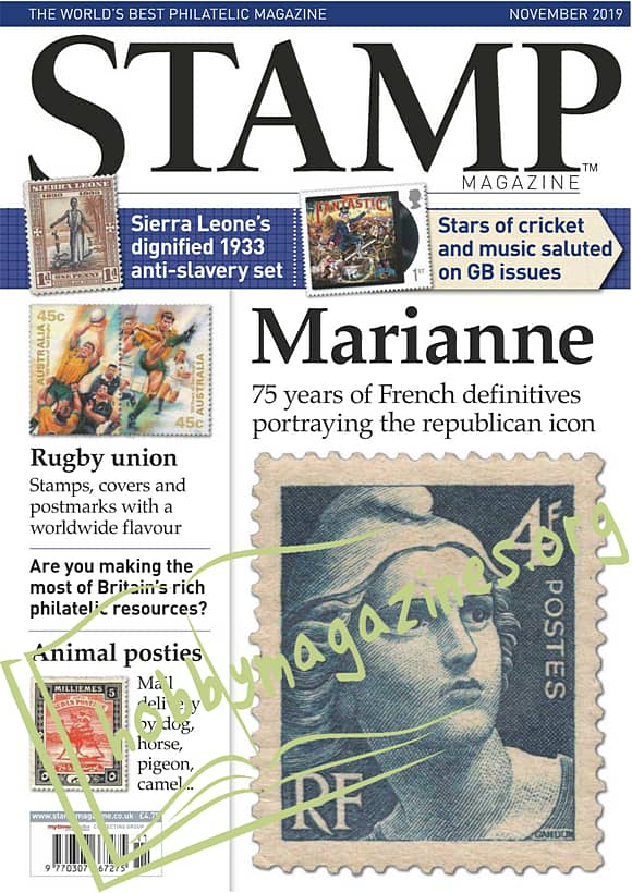 Stamp Magazine  - November 2019