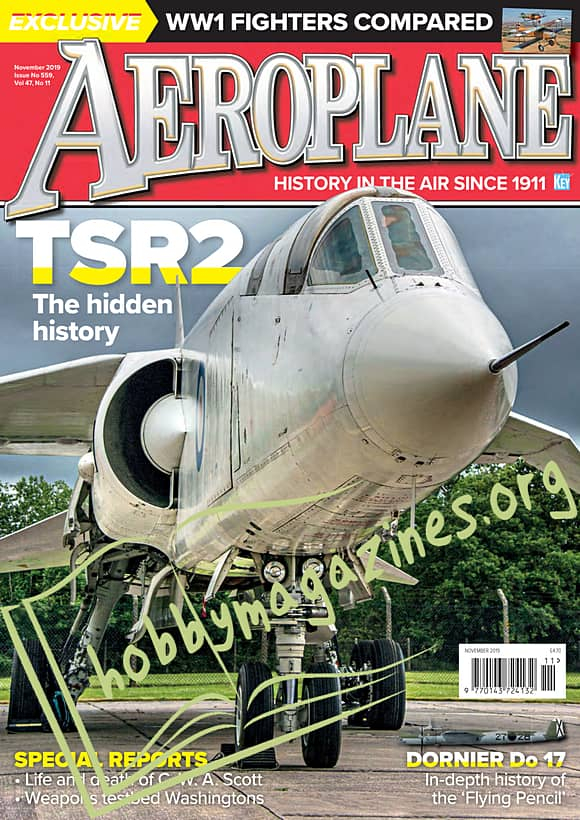 Aeroplane - November 2019