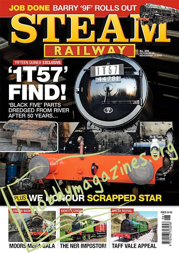 Steam Railway - October 18-November 14 2019