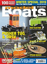 Model Boats - Winter Special 2019